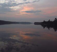 Early morning calm by Janet Gosselin