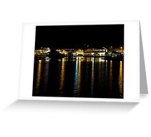 Watch Hill at Night Greeting Card