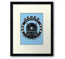 Dalek College Framed Print