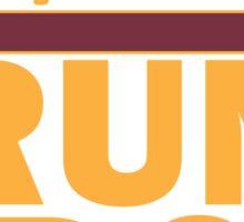 Redskins - Run DC - Run DMC Sticker