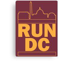 Redskins - Run DC - Run DMC Canvas Print