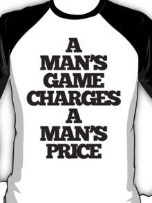 TRUE DETECTIVE MAN'S GAME T-Shirt