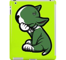 Bull Terrier Green  iPad Case/Skin