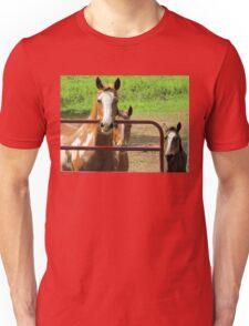 The Thinking Horses Unisex T-Shirt