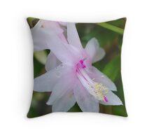 Delicate Zygo Flower Throw Pillow