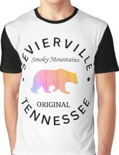 SEVIERVILLE TENNESSEE SMOKY MOUNTAINS ORIGINAL NATIONAL PARK BEAR Graphic T-Shirt