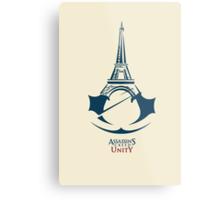 Assassin's Creed: Unity by AronGilli Metal Print
