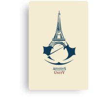 Assassin's Creed: Unity by AronGilli Canvas Print