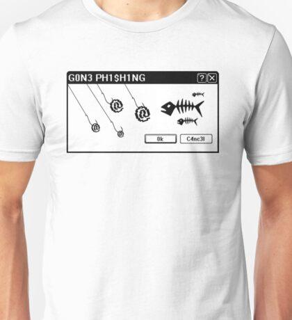 Gone Phishing Unisex T-Shirt