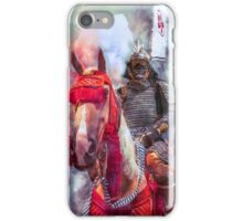 18th Century Samurai Warrior iPhone Case/Skin