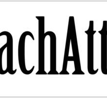 Zach Attack Sticker