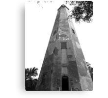 Beautiful Bald Head Island Lighthouse Canvas Print