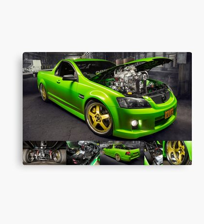 Dustin Goldsmith's Holden VE Commodore - Poster Canvas Print