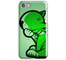 1 Beer Too Many Bull Terrier Green iPhone Case/Skin