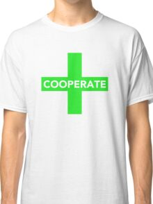 Cooperate (Prisoner's Dilemma) Classic T-Shirt
