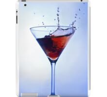cocktail blue iPad Case/Skin
