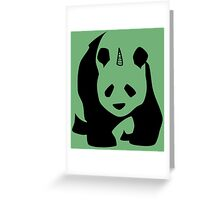 I Am PandiCorn Greeting Card
