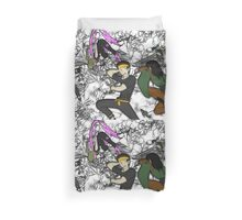 Heroes in a half-cast Duvet Cover
