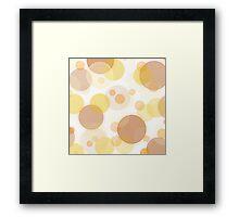 Bubbles No 3 Framed Print