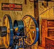 Wheels and John Deere by thomr