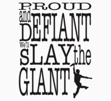 Newsies: Slay the Giant by Elfsongs
