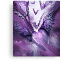 Flight Of The Heart - Lavender Canvas Print