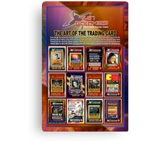 The Art of the Trading Card (by Walter Day) Canvas Print