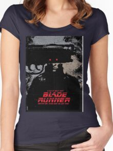 Blade Runner Women's Fitted Scoop T-Shirt