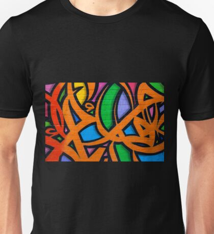 Graffiti, Hosier Lane Unisex T-Shirt