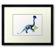 Fedorasaurus Framed Print