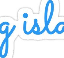 Long Island Blue Sticker