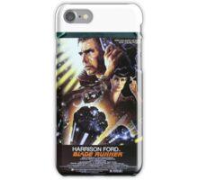Vintage Blade Runner Poster iPhone Case/Skin