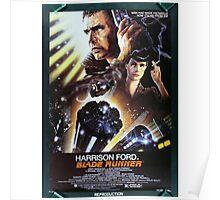 Vintage Blade Runner Poster Poster