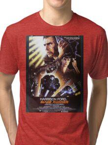 Vintage Blade Runner Poster Tri-blend T-Shirt
