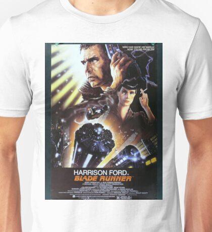 Vintage Blade Runner Poster Unisex T-Shirt