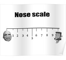 On a nose scale of.... Poster