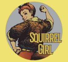 Squirrel Girl One Piece - Short Sleeve