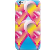 Refresher Hearts Abstract iPhone Case/Skin