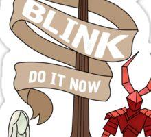 BLINK Sticker