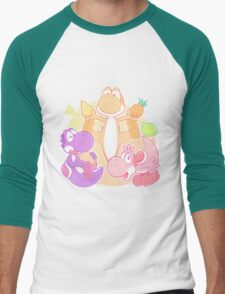 Fruit Fiesta! Men's Baseball ¾ T-Shirt