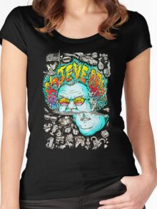 steve brule Women's Fitted Scoop T-Shirt