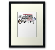 A Taco Truck On Every Corner!! Framed Print