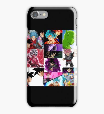 Dragón ball super iPhone Case/Skin