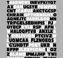 Bastille crossword. by SpazyArt
