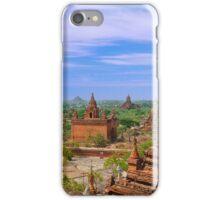 View over Bagan, Burma iPhone Case/Skin