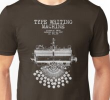 TYPE WRITER Unisex T-Shirt