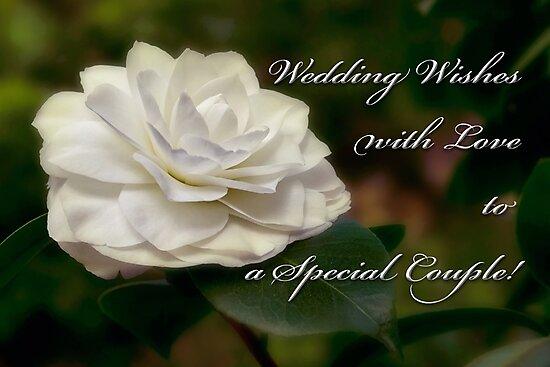 Camellia wedding card by Celeste Mookherjee