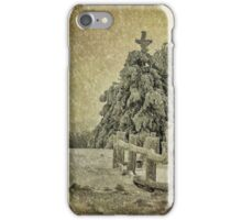 Oh Christmas Tree In Snow iPhone Case/Skin
