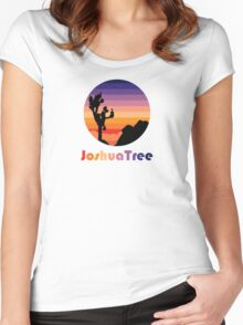 Joshua Tree T-Shirt Women's Fitted Scoop T-Shirt