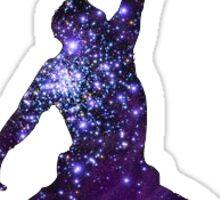 Michael Jordan Galaxy Logo Sticker